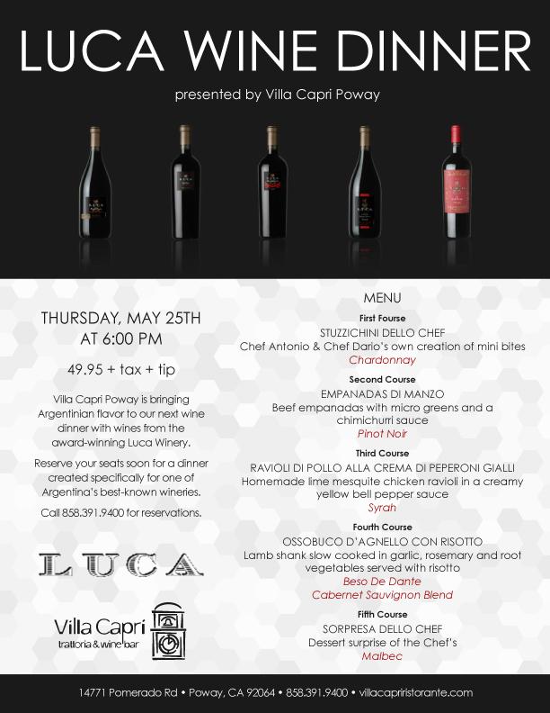 villa-capri-poway-wine-dinner