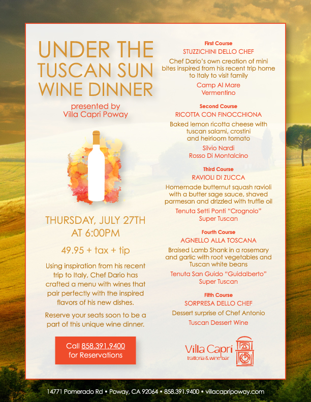 villa-capri-poway-july-wine-dinner-flyer
